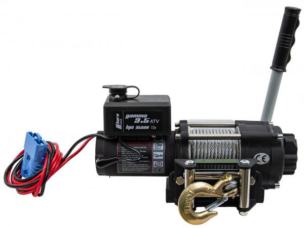 Horn Seilwinde Gamma 3,5 ATV, 12 V mit Kugelschnellverschluss