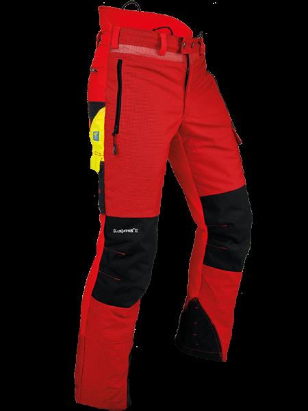 Pfanner Gladiator® II Schnittschutzhose rot