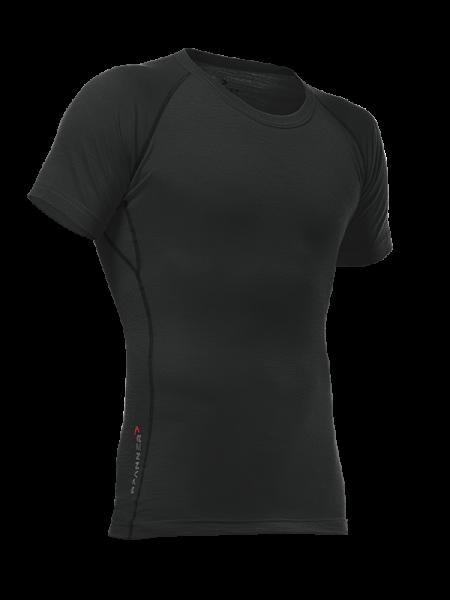 Pfanner maglietta Merino a maniche corte nero
