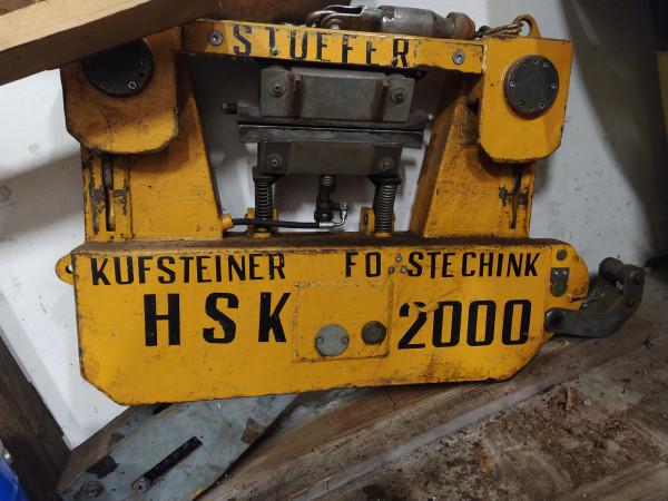 Laufwagen Stufer 2000