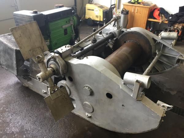 Schlittenwinde Gantner USW80 1000 mecchanisch