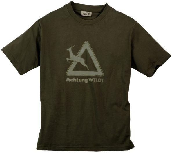 Maglietta da uomo Hubertus Warning Wild