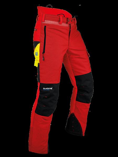 Pfanner pantalone antitaglio Ventilation Tipo C rosso