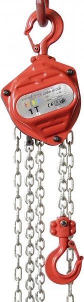 Paranco a catena, ingranaggio cilindrico