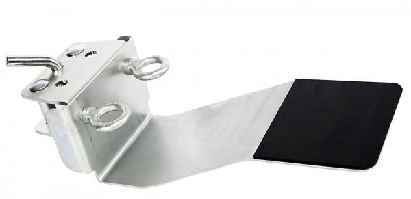 Windenstützplatte mit gebogenem Stift