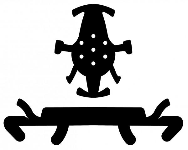 Kask imbottitura per casco Plasma HI VIZ