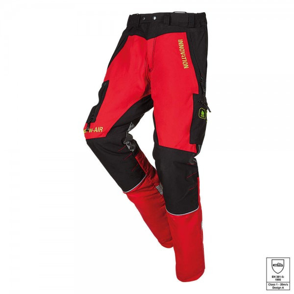 SIP Protection Canopy W-AIR Schnittschutzhose rot