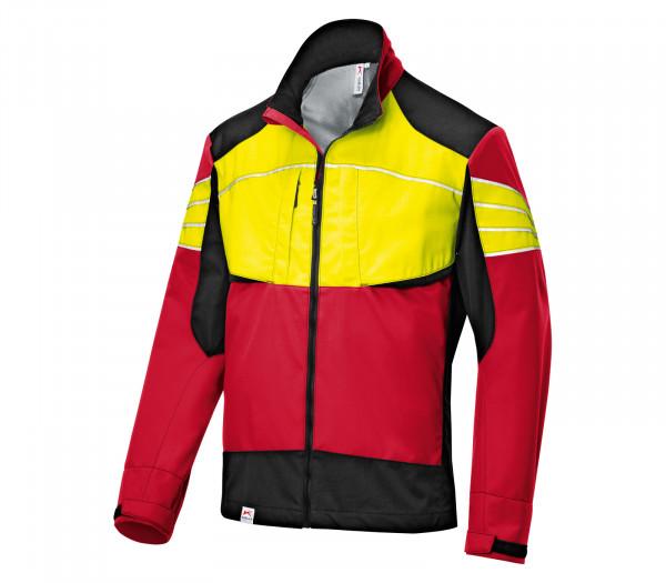 Kübler giacca Ultrashell FORM 1750 rosso/giallo neon davanti