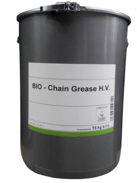 Lubrificante per catena organico secchio da 15 kg