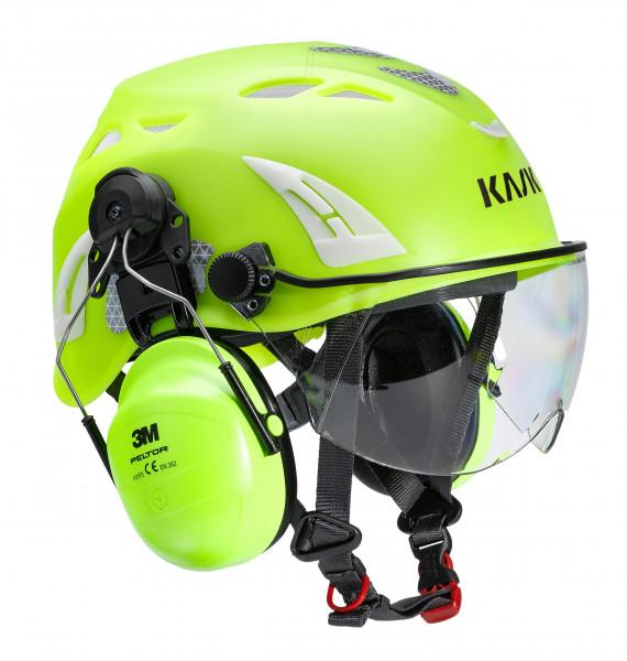 kask hi viz  Kask combinazione di protezione testa Plasma HI VIZ | Woodpower