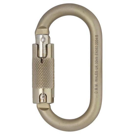 DMM 10mm Oval Locksafe Oval Stahlkarabiner