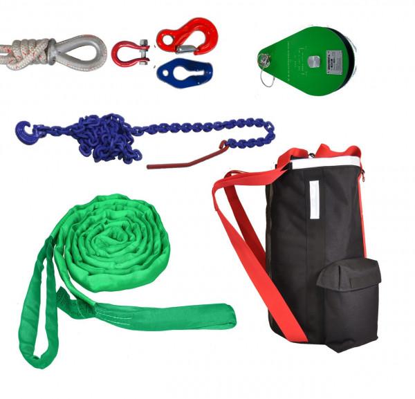 Zugausrüstung für Spillwinde 1200 und VF105 Red Iron