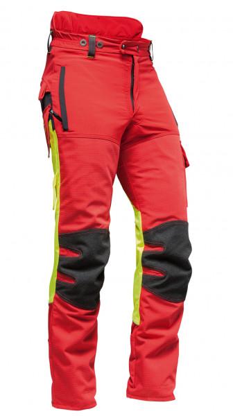 AX-MEN Ripstop EVO Schnittschutzhose rot