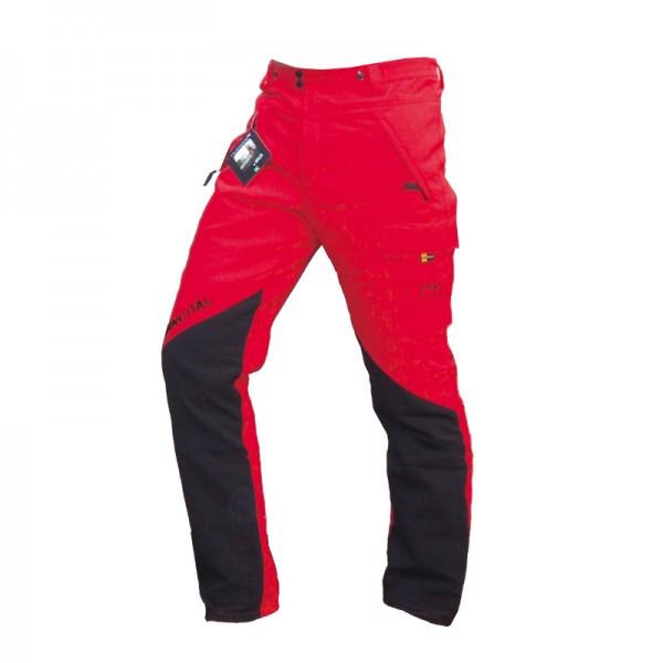 Francital Everest pantalone antitaglio rosso