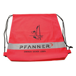 Pfanner Polyester-Rucksack mit Reflexstreifen