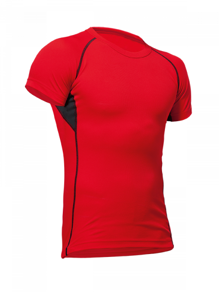 Pfanner maglietta funzionale Vega rosso/nero