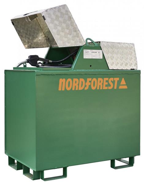 Serbatoio diesel Nordforest da 600 litri